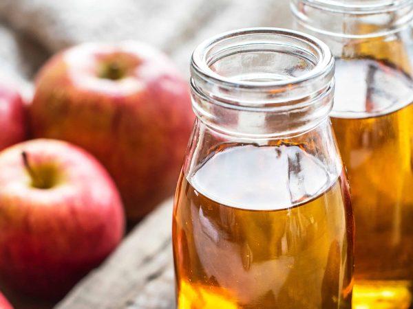 Äpfel und Cider