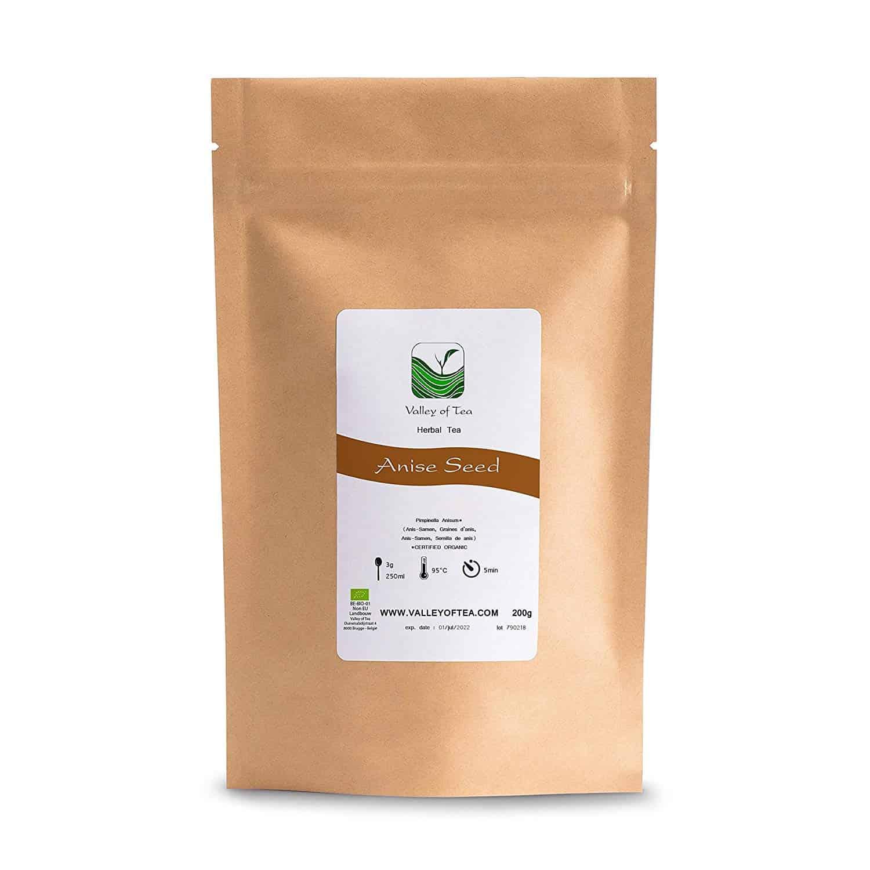 Anis Samen Gewürz Bio Qualität - perfekt zum Backen und für Desserts - Anis Pimpinella anisum - anissamen biologisch Bioanbau - Anis Tee 100g