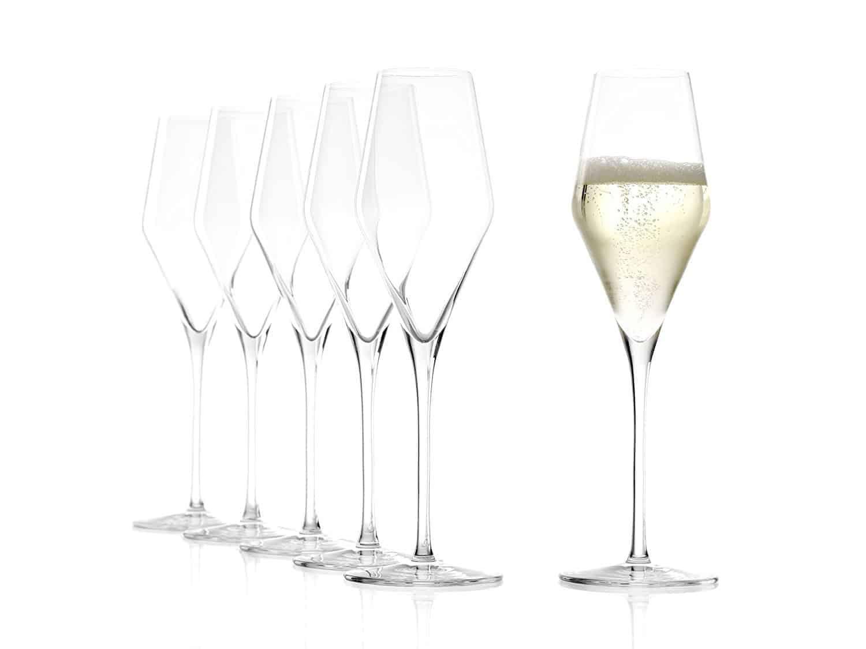 Stölzle Lausitz Champagnerglas Quatrophil 290ml, 6er Pack