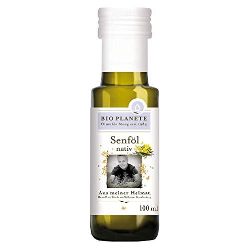 Bio Planete Senföl nativ aus deutscher Herkunft (1 x 100 ml)