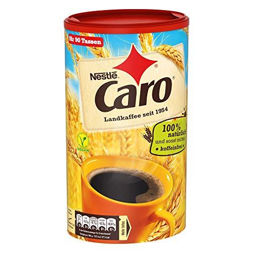 Nestlé CARO Landkaffee, lösliches Pulver aus Gerste, Gerstenmalz, Zichorie und Roggen, koffeinfrei, 1er Pack (1 x 200g)