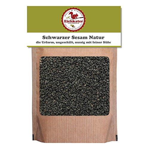 Eichkater Schwarzer Sesam Natur 2er-Pack (2x500 g)