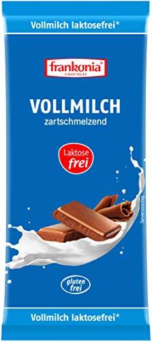 frankonia CHOCOLAT Vollmilchschokolade laktosefrei & glutenfrei, 100 g