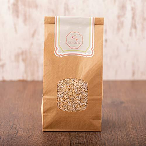 süssundclever.de® Bio Amaranth, gepufft | 600g (2 x 300g) | hochwertiges Naturprodukt | plastikfrei und ökologisch-nachhaltig abgepackt