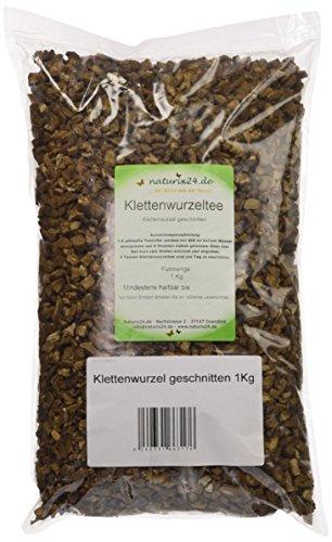 Naturix24 Klettenwurzel Tee geschnitten, 2er Pack (2 x 1 kg)