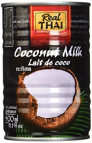 Real Thai Kokosnussmilch, 6er Pack (6 x 400 ml)